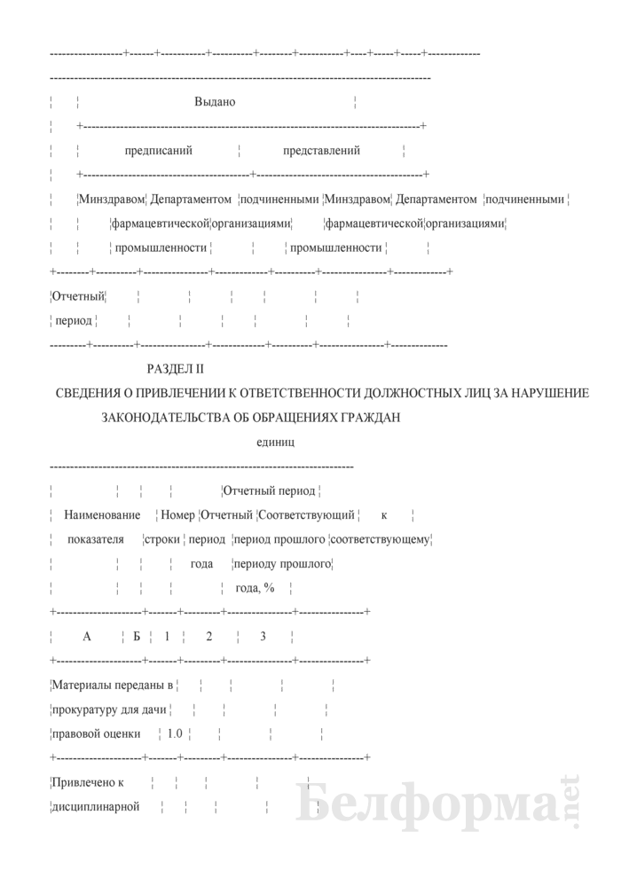 Сведения об обращениях граждан (квартальная). Страница 7