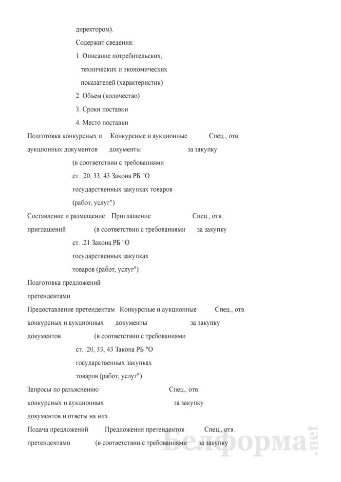 Положение о проведении государственных закупок товаров (работ, услуг). Страница 13