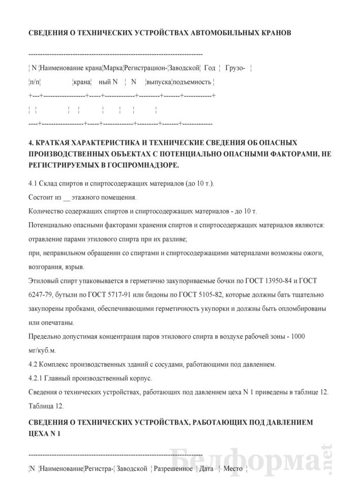 Положение об организации и осуществлении производственного контроля за соблюдением требований промышленной безопасности на опасных производственных объектах. Страница 11