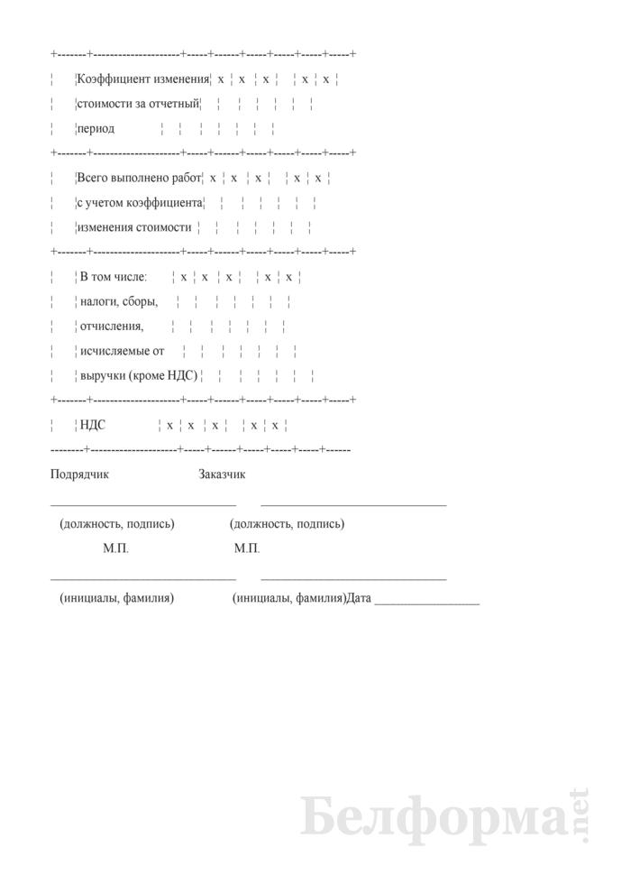 Акт приемки выполненных работ (этапов). Страница 2