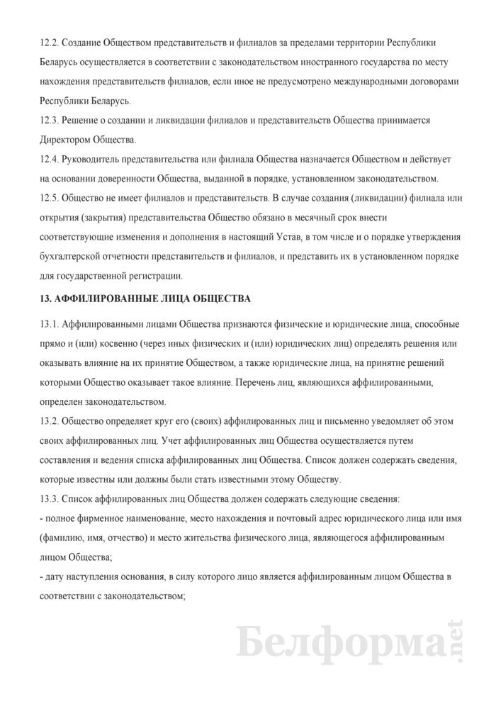 Устав общества с дополнительной ответственностью. Страница 24