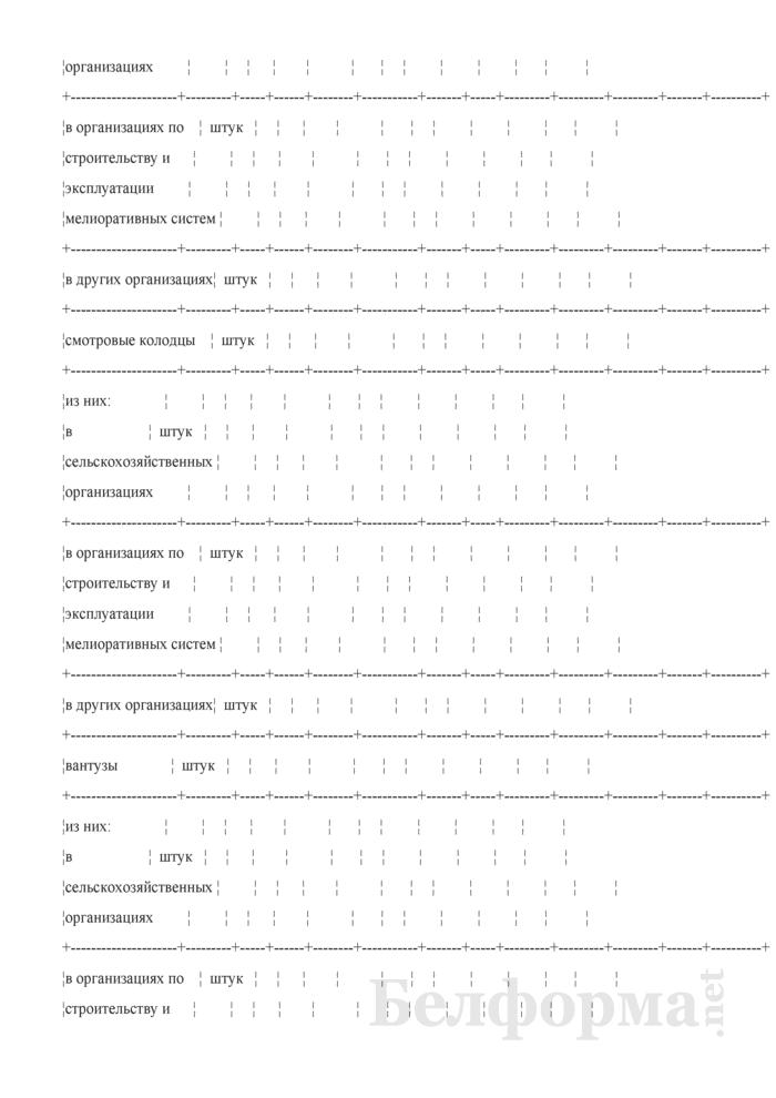 Ведомость технического состояния оросительных мелиоративных систем. Страница 15