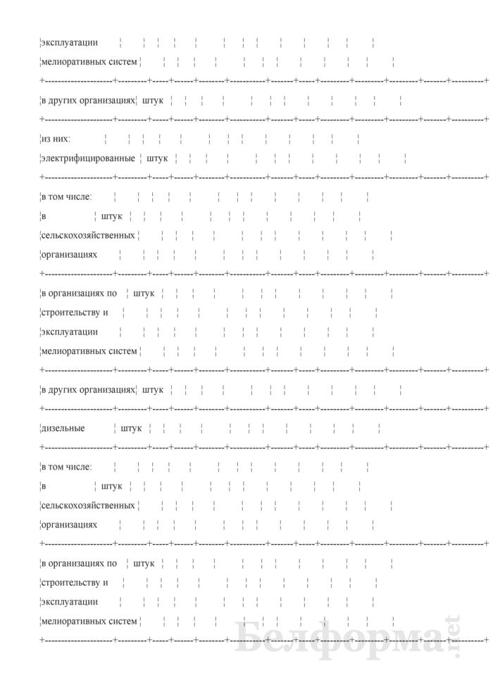 Ведомость технического состояния оросительных мелиоративных систем. Страница 17