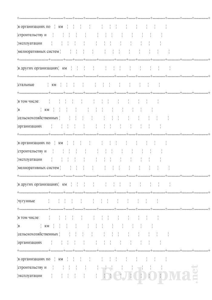 Ведомость технического состояния оросительных мелиоративных систем. Страница 8