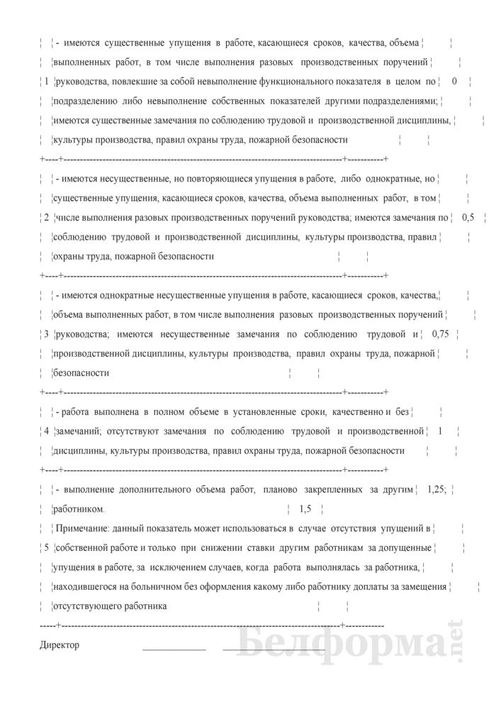 Положение о премировании работников за производственные результаты. Страница 19