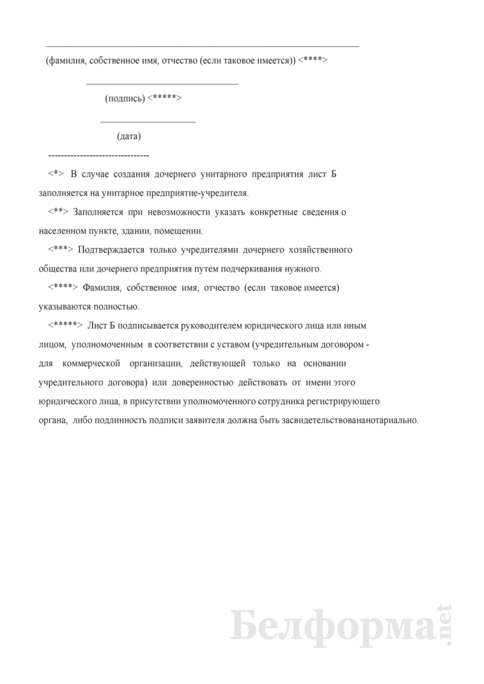 Заявление о государственной регистрации коммерческой организации. Страница 17
