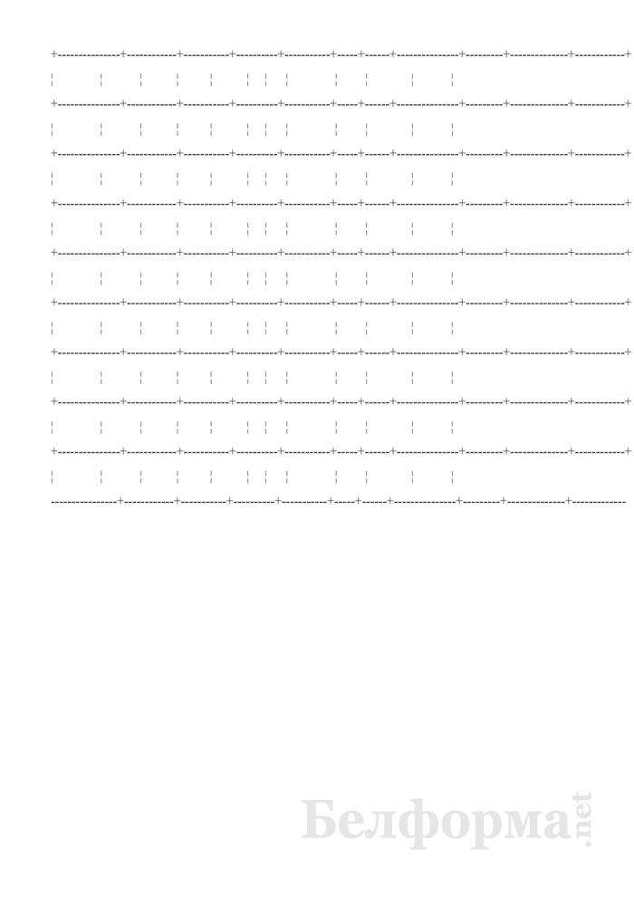 Дневник работы службы скорой (неотложной) медицинской помощи (Форма № 115/у-09). Страница 7