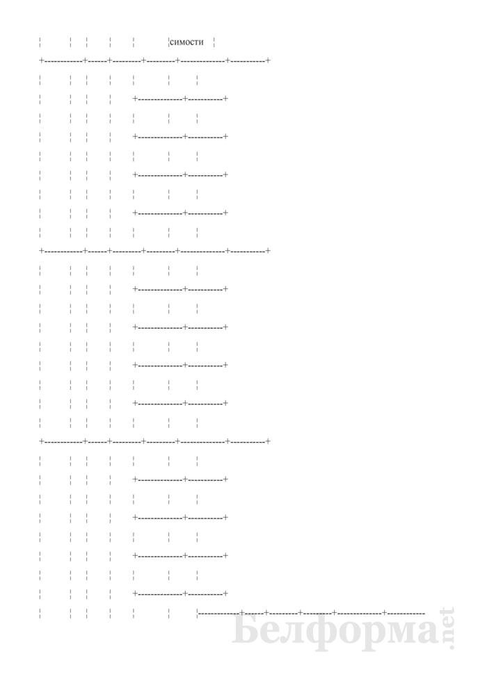 Медицинская карта амбулаторного больного туберкулезом. Форма № 03-2туб/у. Страница 11
