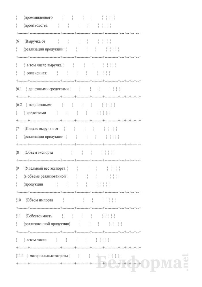 Основные показатели развития на очередной год. Страница 2