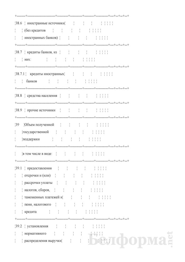 Основные показатели развития на очередной год. Страница 8