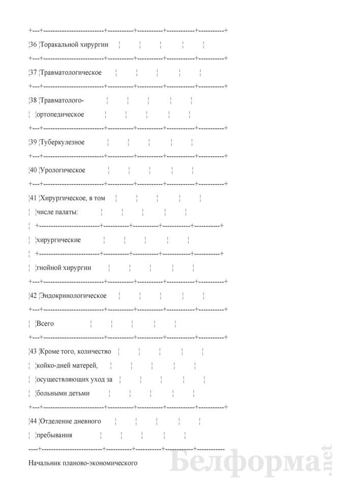 Показатели деятельности основных структурных подразделений по оказанию медицинской помощи в стационарных условиях. Страница 4