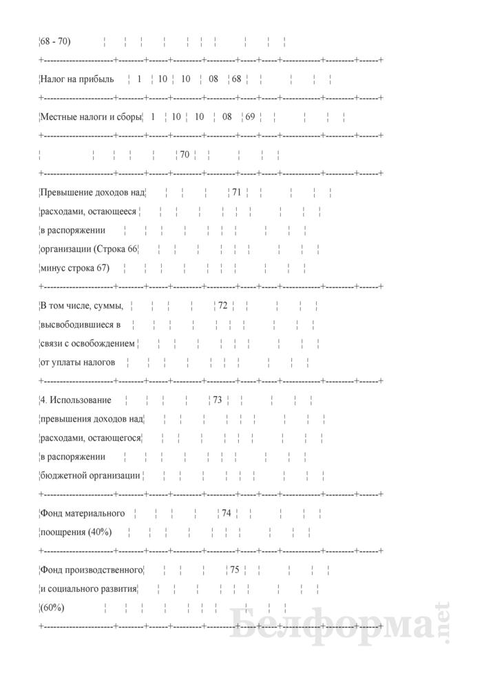 Расчет доходов и расходов внебюджетных средств организаций, финансируемых из бюджета, на 2007 год. Страница 11