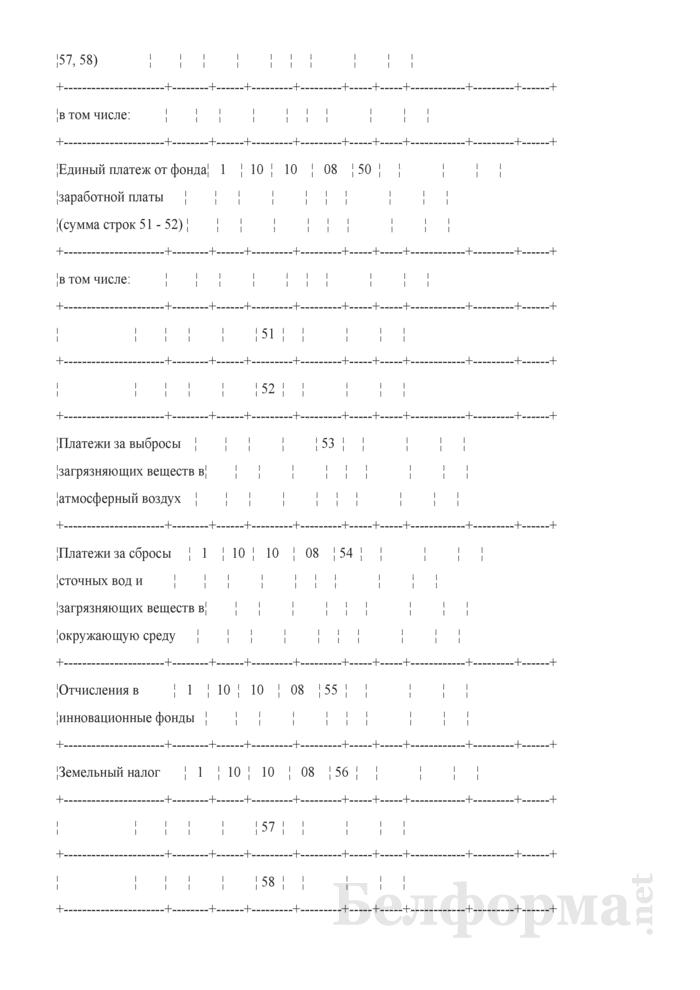 Расчет доходов и расходов внебюджетных средств организаций, финансируемых из бюджета, на 2007 год. Страница 9