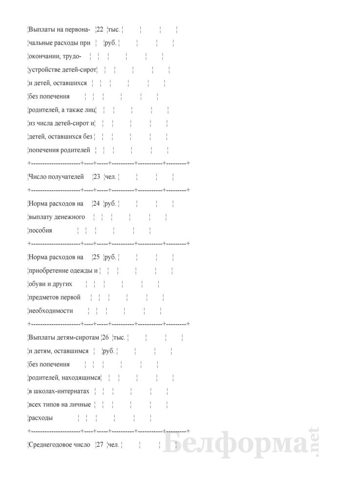 """Расчет по элементу затрат 300304 """"Прочие трансферты населению"""". Страница 4"""