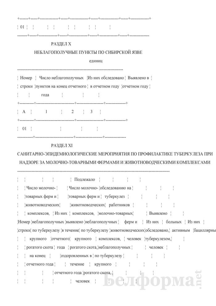 Сведения о противоэпидемических мероприятиях (годовая). Страница 15
