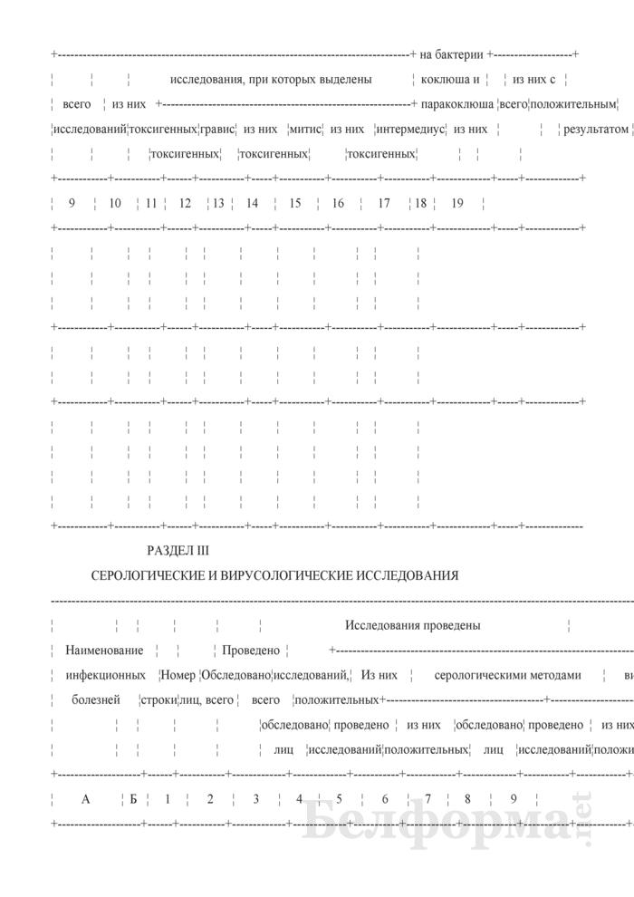 Сведения о противоэпидемических мероприятиях (годовая). Страница 4