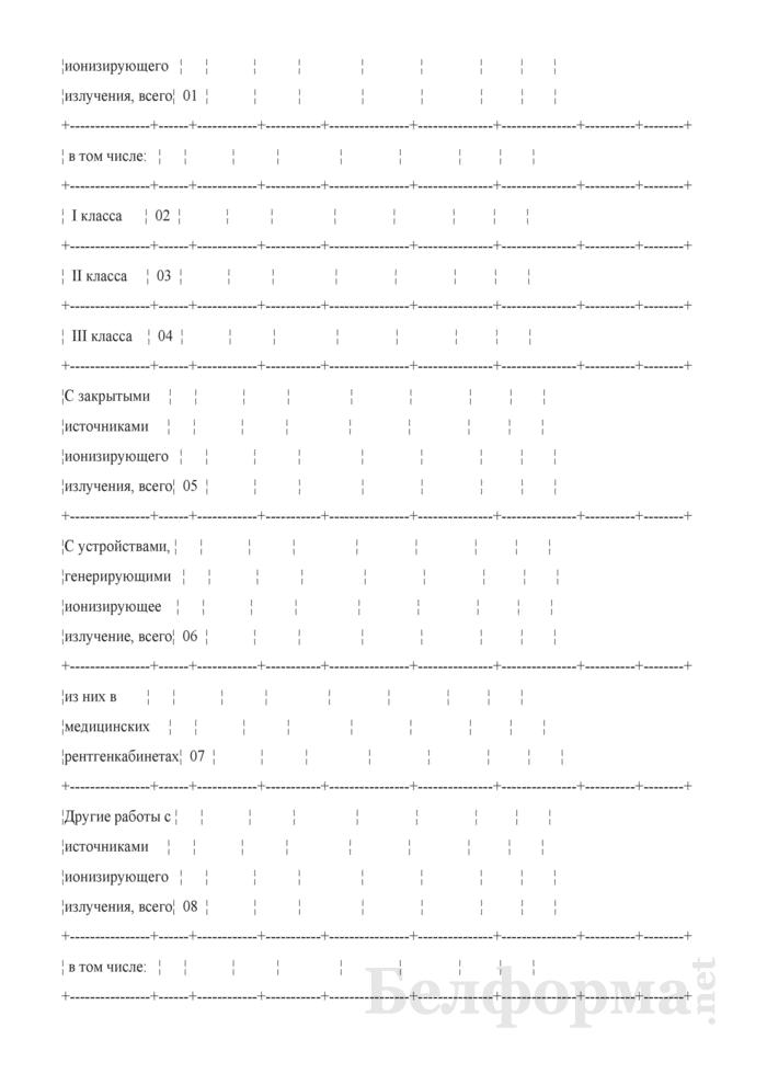 Сведения о радиационно-гигиенической обстановке на территории (годовая, полугодовая). Страница 3