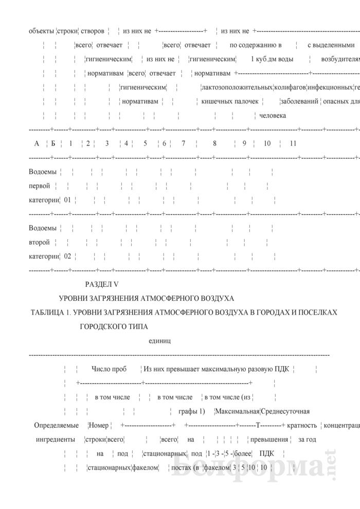 Сведения о санитарном состоянии территории (годовая). Страница 13