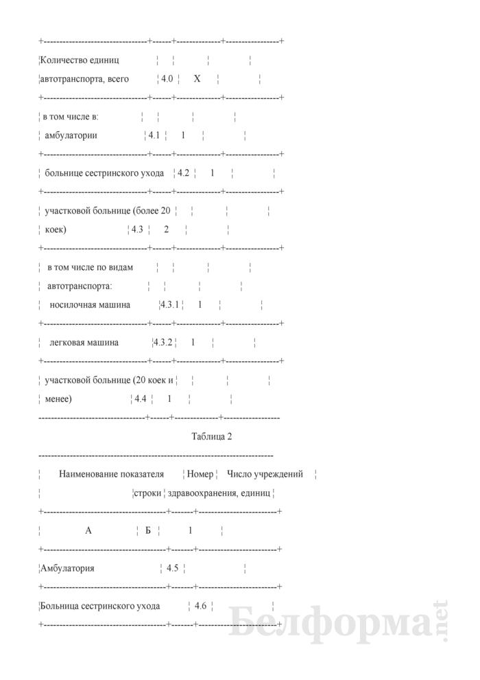 Сведения о внедрении государственных социальных стандартов в области здравоохранения (квартальная). Страница 5