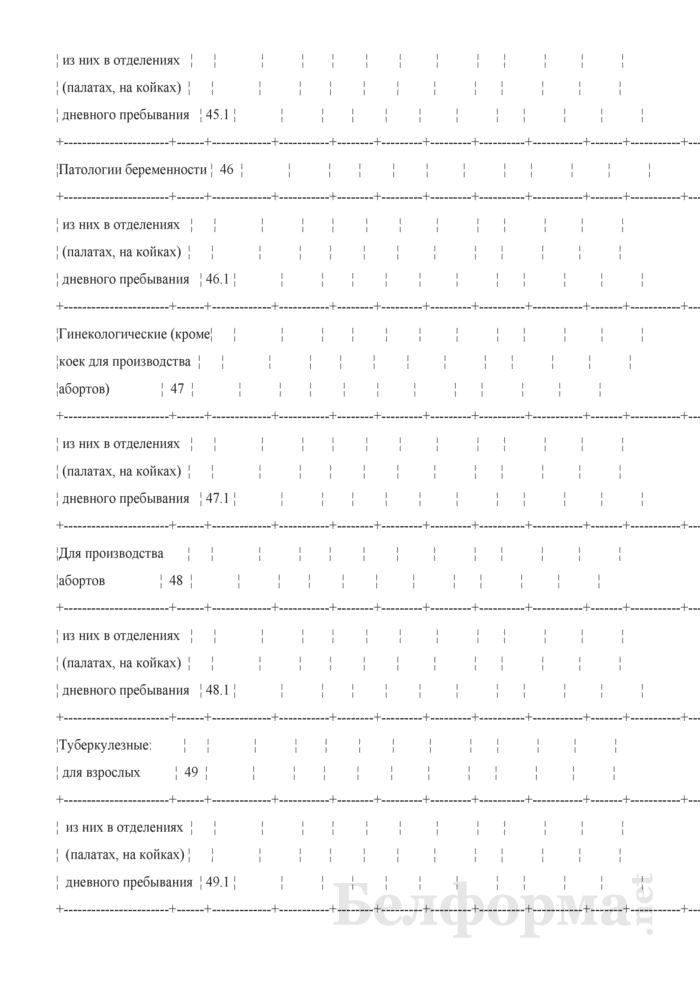 Сведения о выполнении территориальных программ государственных гарантий по обеспечению медицинским обслуживанием граждан в организациях здравоохранения, оказывающих стационарную помощь по профилю оказания (Форма 2-ТПГГ (годовая)). Страница 27